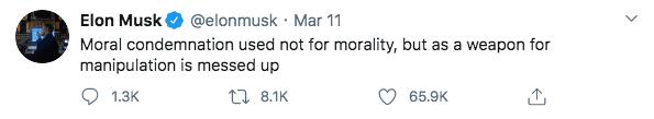 Coronavirus 101 Musk Tweet 2