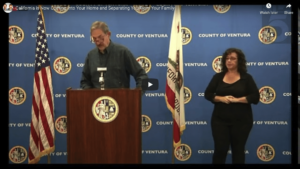Covid Timeline - Ventura County - Coming into your home separating families