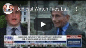 covid-timeline-judicial-watch-files-lawsuit-seeking-who-fauci-records