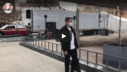 Covid Timeline - NY Hospitals are NOT Full